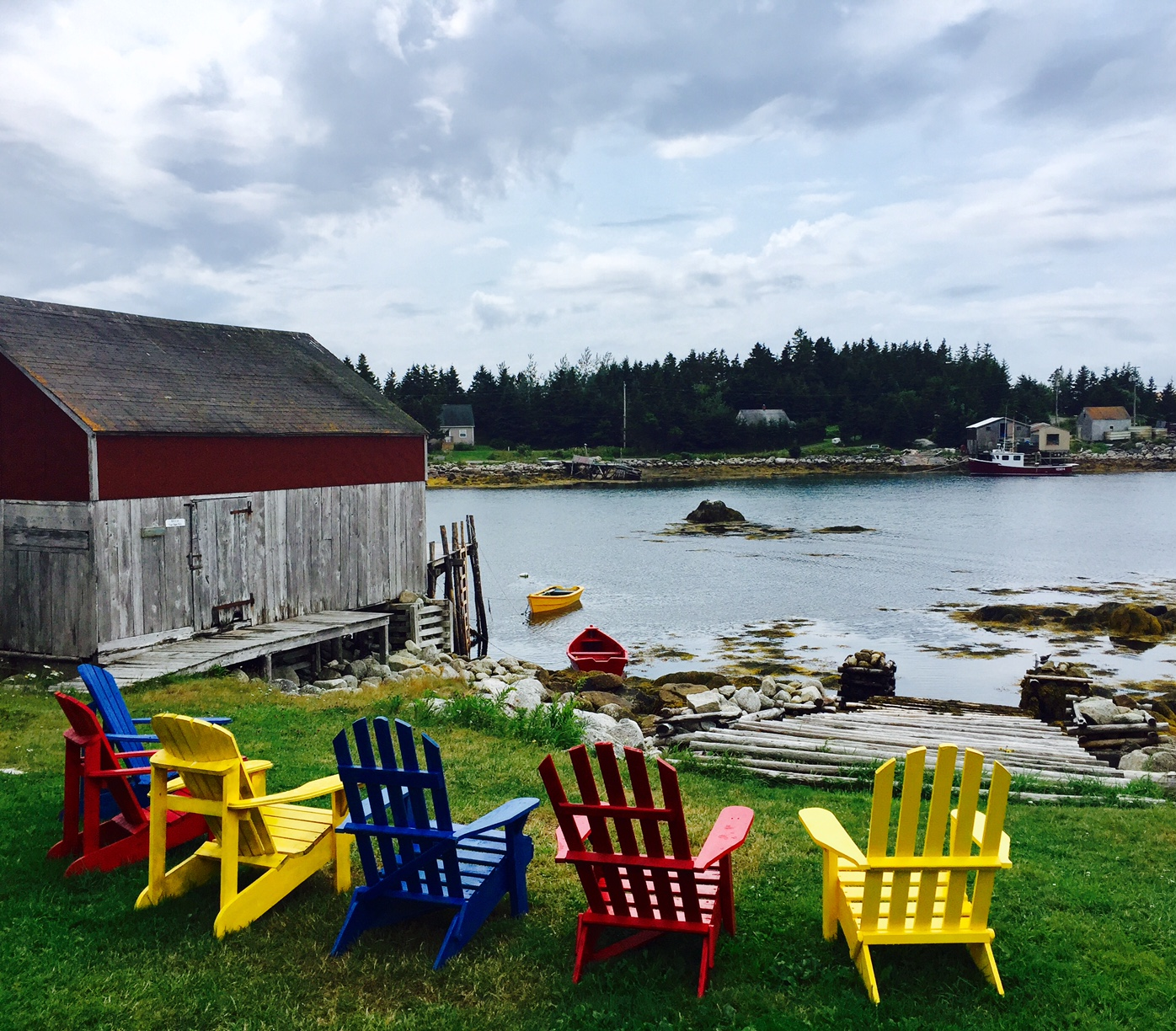 Swell Ears Cheers And New Frontiers Peggys Cove Nova Scotia Theyellowbook Wood Chair Design Ideas Theyellowbookinfo