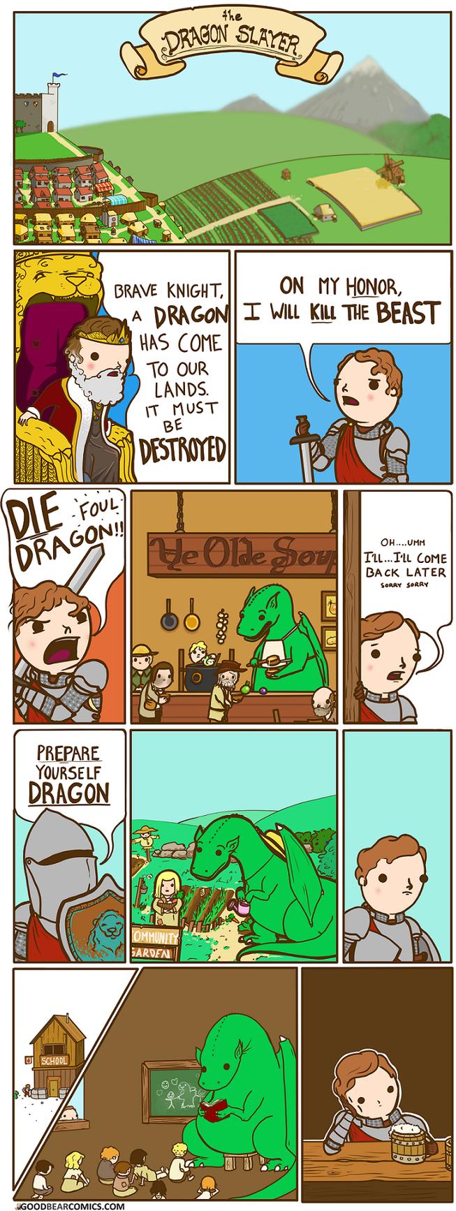The Dragon Slayer