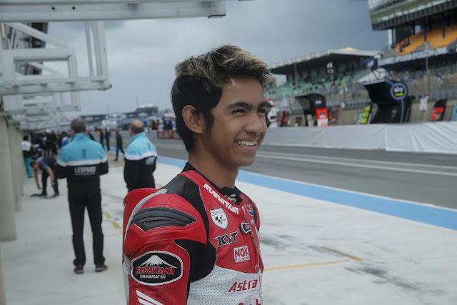 Alami Cedera, Andi Gilang Absen di CEV Moto3 Junior World Championship Le Mans