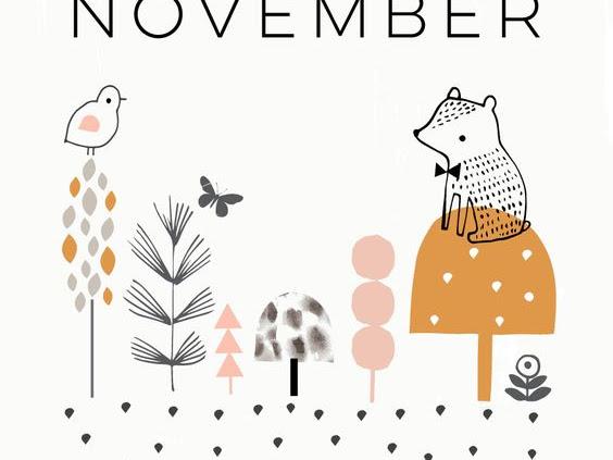 Inspirações - Hey November!