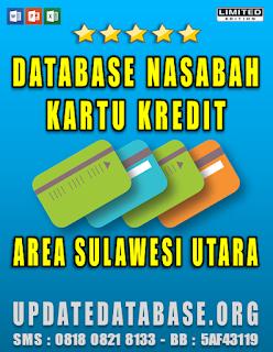 Jual Database Nasabah Kartu Kredit Sulawesi Utara