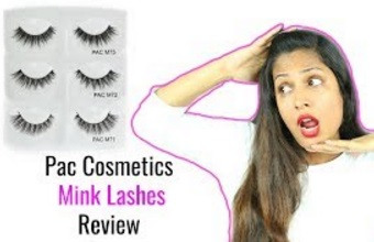 PAC Mink Eye Lashes Review WeekendReviews
