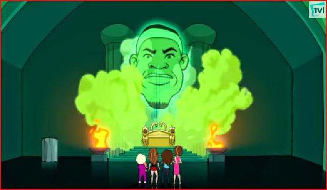 LeBron James Hot in Cleveland animated episode animatedfilmreviews.filminspector.com