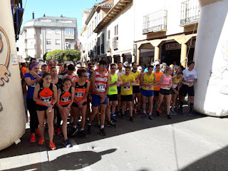 Clasificacion y Fotos  media maraton del Dulce y 5 kms Dulces 2019
