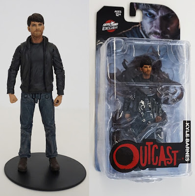 Skybound Entertainment Exclusive Outcast TV Series Kyle Barnes Action Figure by McFarlane Toys – Clean Edition