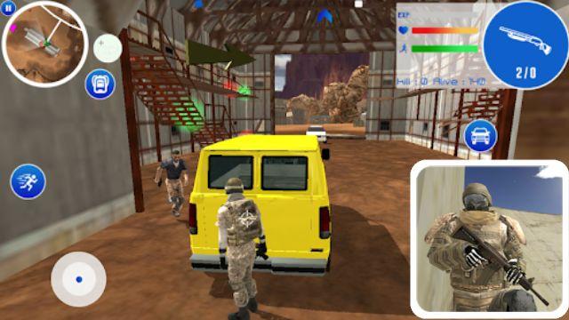 Desert Battleground - 7 Rekomondasi Game Mirip PUBG Tapi OFFLINE yang Wajib Kamu Install