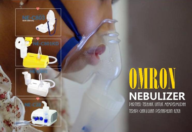 Omron Nebulizer, partnert terbaik untuk mempermudah terapi gangguan pernapasan