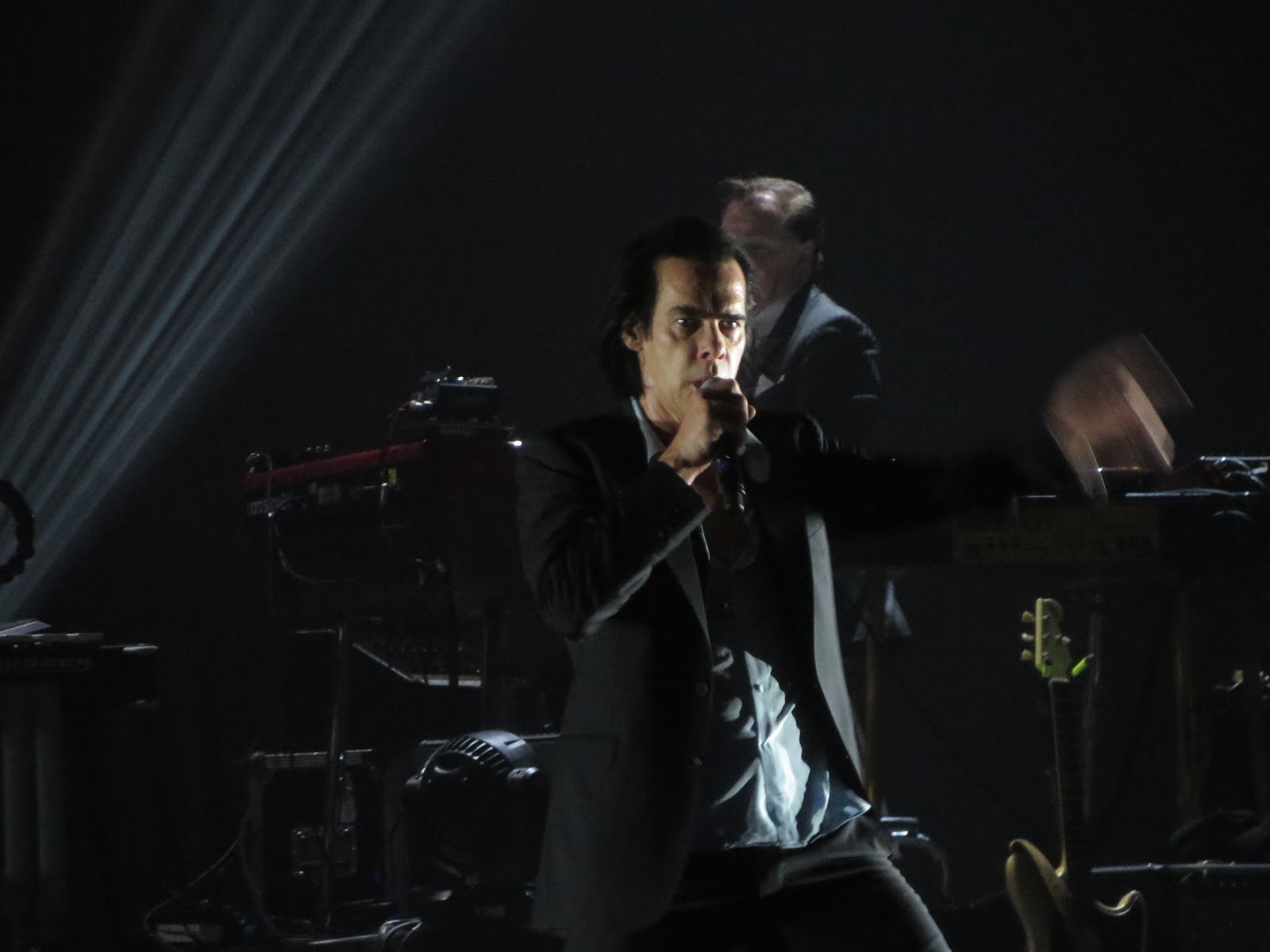 ronald says memoirs of a music addict on stage nick cave u0026 the