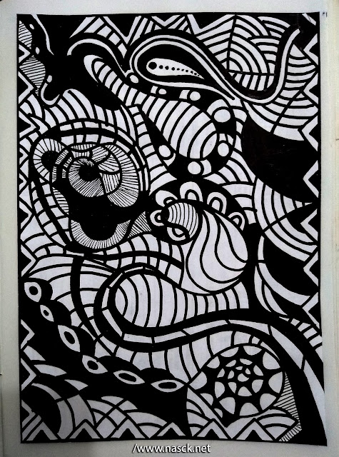 Zentangle Nasck