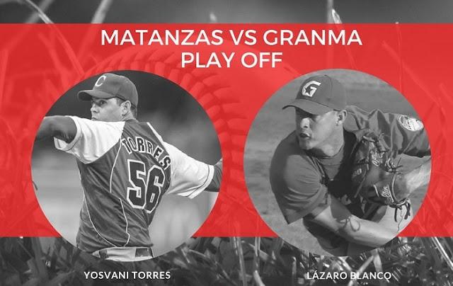 Matanzas y Granma se verán las caras esta noche, en el cuarto choque de una de las semifinales del béisbol cubano.