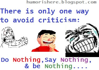 hilarious  funny quote on do nothing, listen nothing and say nothing..lol