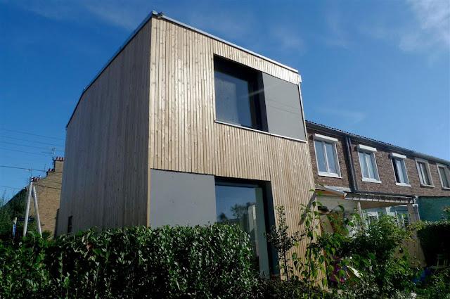 Rénovation écologique, maison individuelle à Villeneuve d'Ascq_Labokub