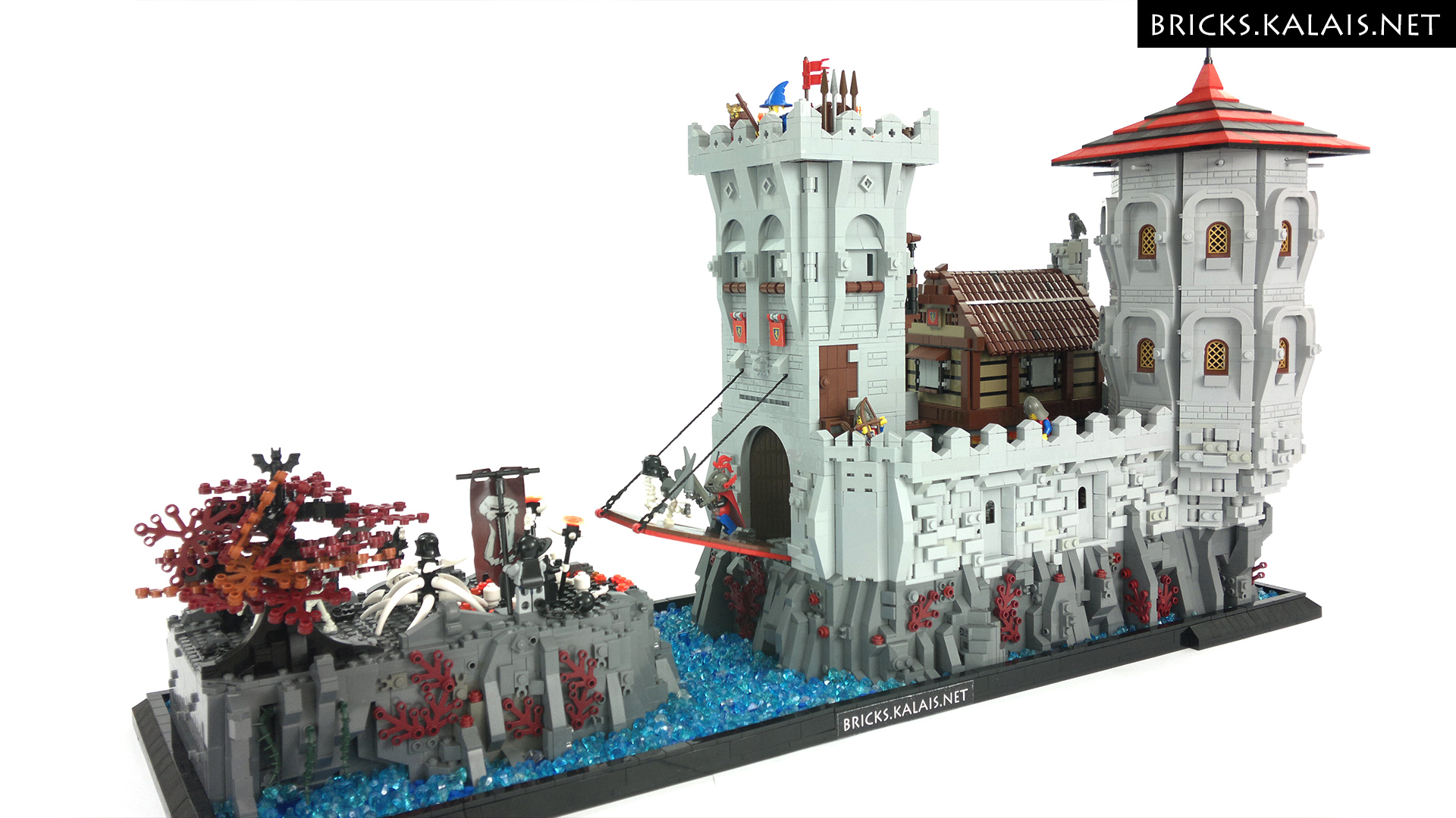 Moc Undead Fall Is Coming To The Lion Knights Bricks
