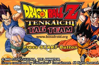 Dragon Ball Z Tenkaichi Tag Team PPSSPP ISO CSO Android High Compress