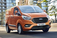 Ford Transit Custom Panel Van (2018) Front Side