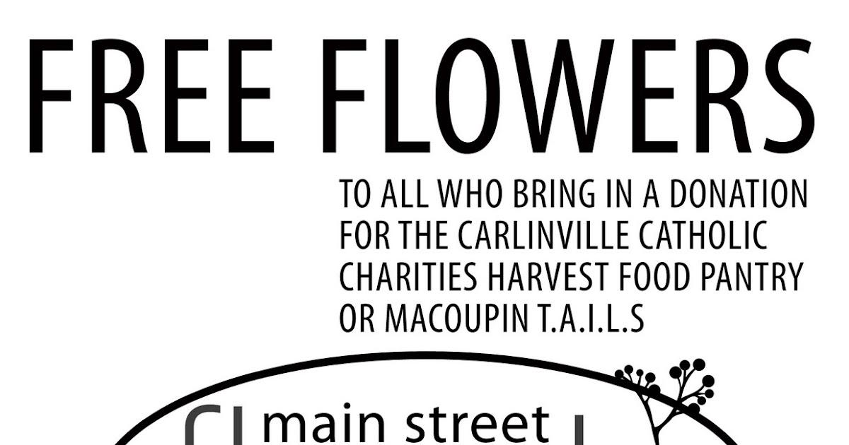 Main Street Florist: Mark your Calendar! FREE FLOWERS!