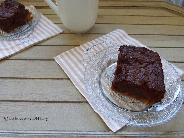 Brookies au chocolat et chocolat praliné