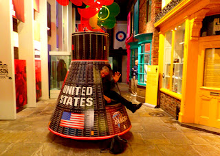 Wayne Dunlap Mercury Capsule York Castle Museum England Great Britain