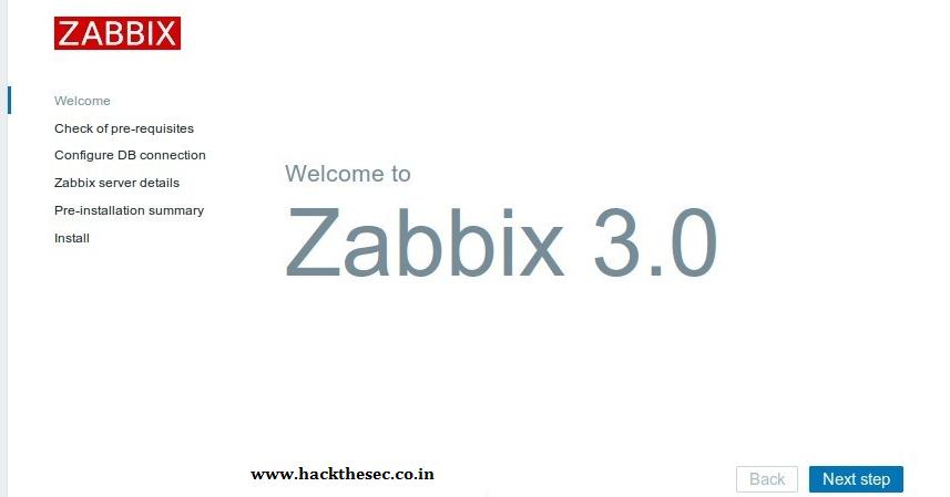 How to install Zabbix 3.0 (Monitoring Server) on CentOS 7