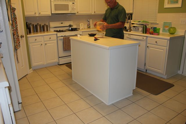 Beadboard Kitchen Island Retro Table Sets Beauty In The Ordinary Diy On Our