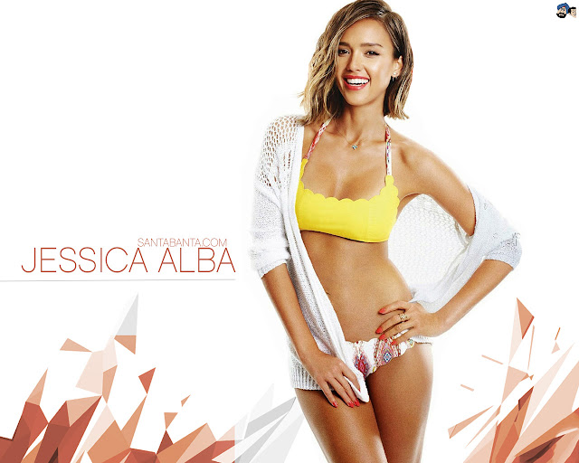 Beautiful Wallpaper of Jessica Alba