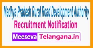 Madhya Pradesh Rural Road Development Authority  Recruitment Notification 2017 Last Date 12-07-2017