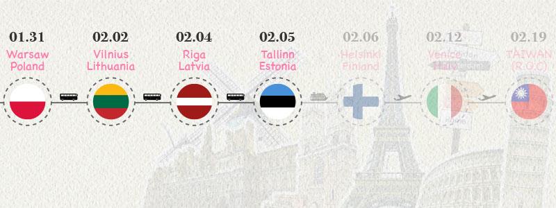[愛沙尼亞.塔林] 中世紀歐洲風格的塔林老城區 市政廳.藥局.教堂.老城牆