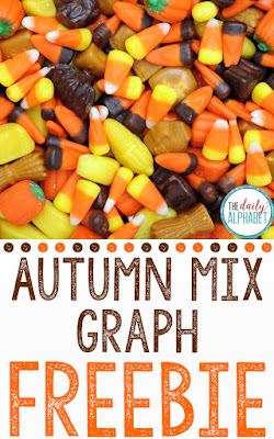 We love to practice math in the fall by graphing autumn mix candy! This engaging activity has students using their math skills, and they don't even realize that they're learning!