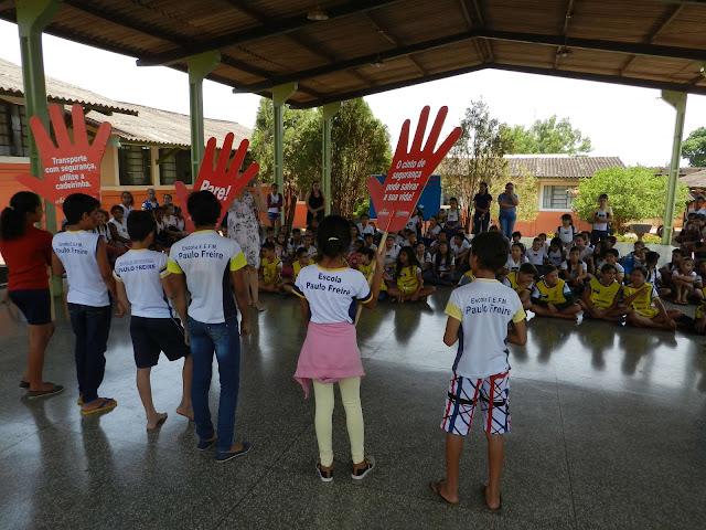 Semana Nacional de Trânsito envolve público estudantil na conscientização