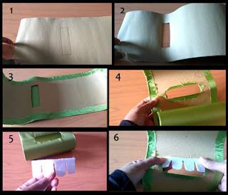 Tutorial tempat tisu gantung unik dari kain perca part 1