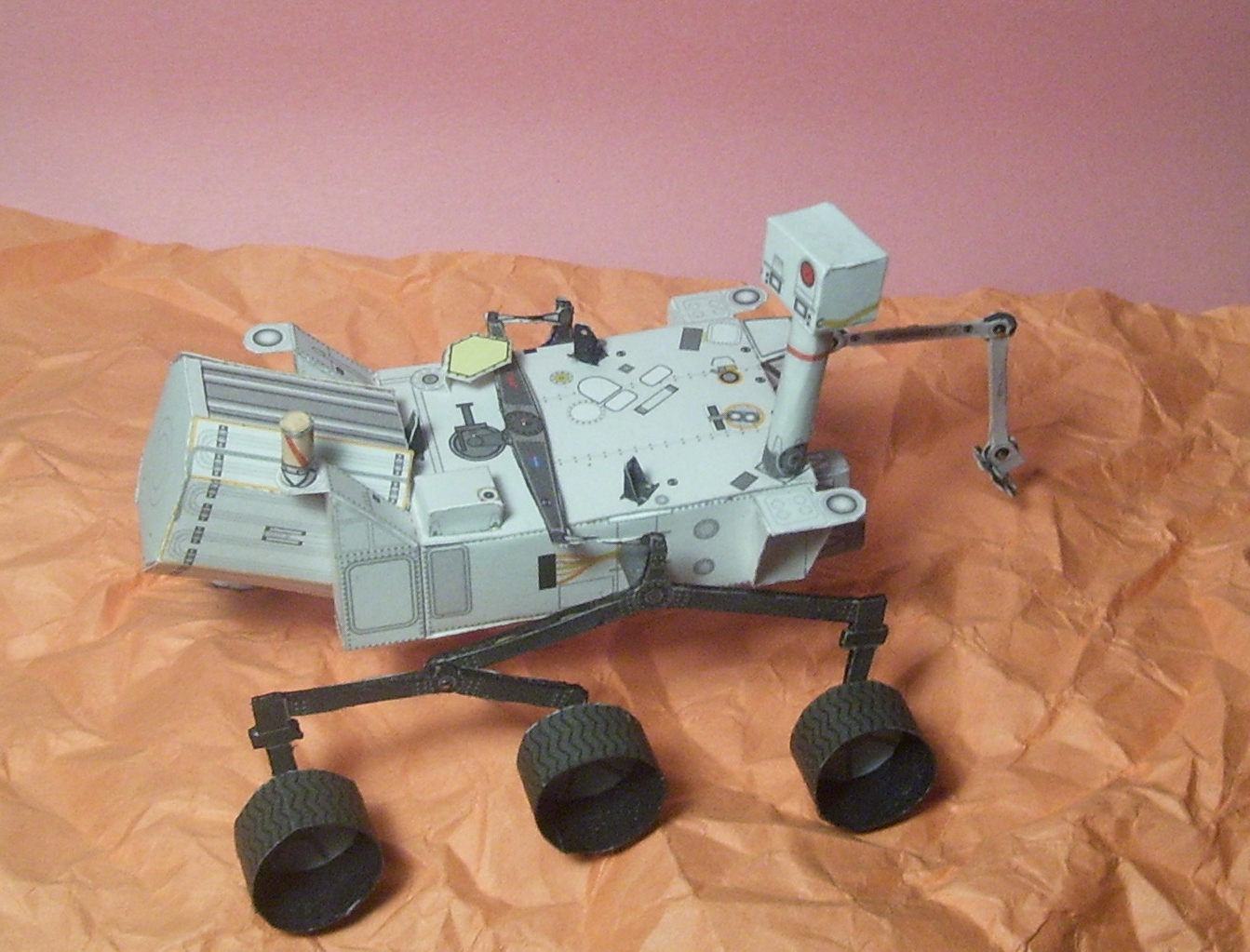 Curiosity Rover Papercraft (page 3) - Pics about space