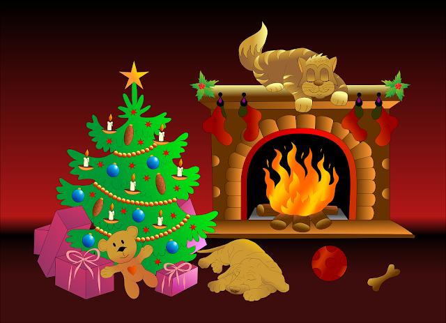 Świąteczny domowy kominek - nasza propozycja