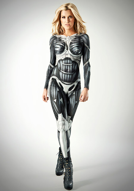 body paint roberts ashley crysis nanosuit