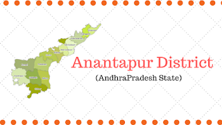Anantapur District | Mandals and Tourist Places - Ap State