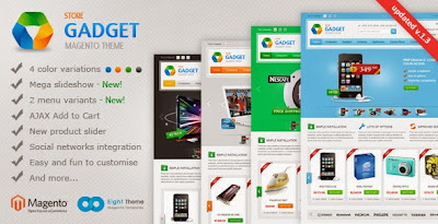 Gadget- Magento Theme for Electronic and Digital online Stores