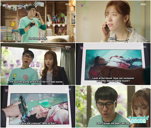 A story With in a Story - W Episode 1 Review - Korean Drama 2016