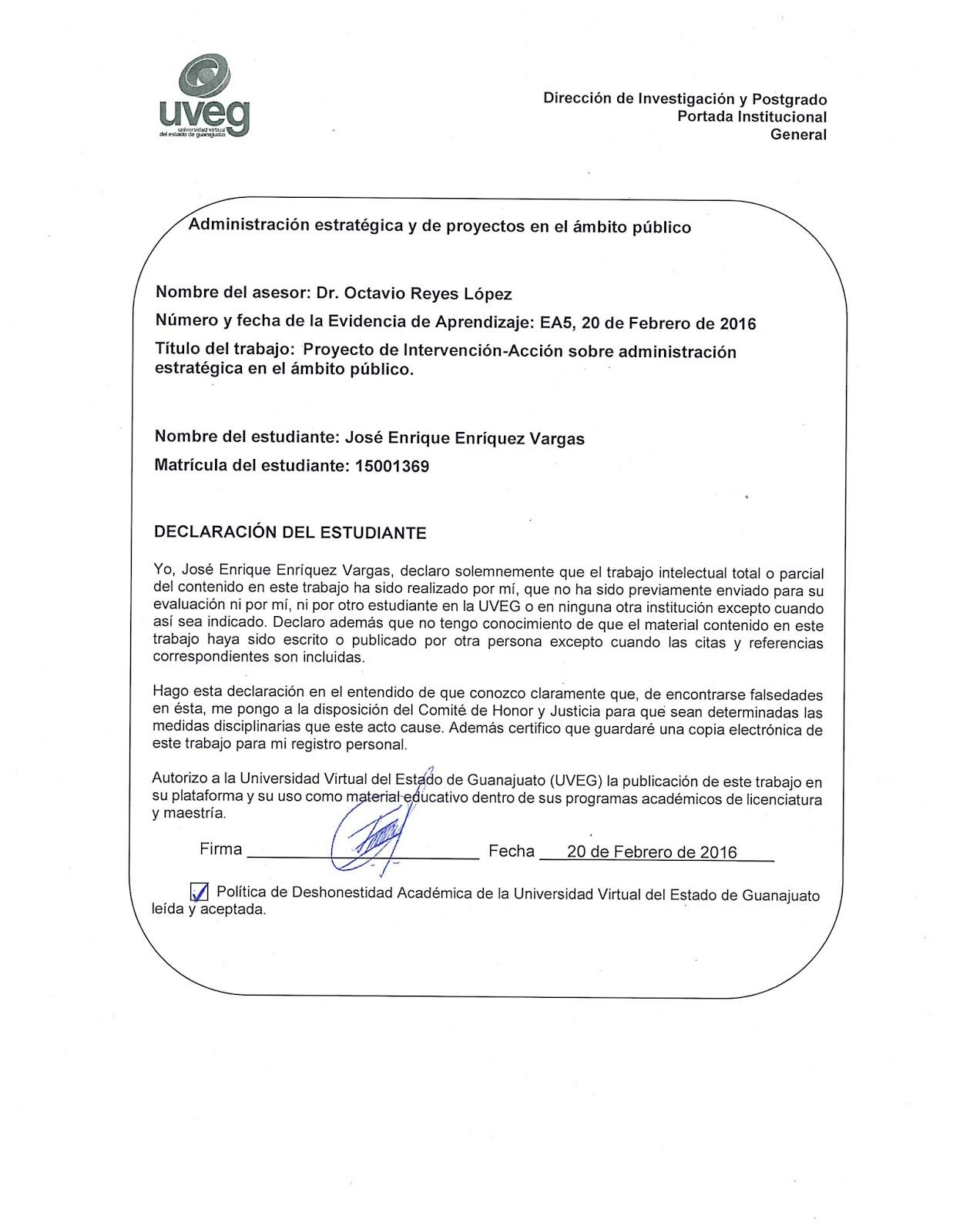 Administración estratégica y de proyectos en el ámbito público-15001369