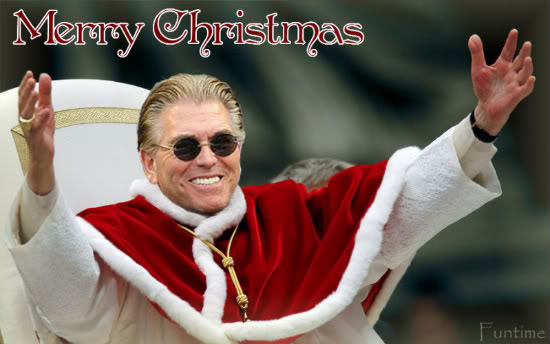 mike francesa 8 days of sports pope christmas
