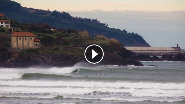 Mundaka happy ending off 2017 In Time Lapse