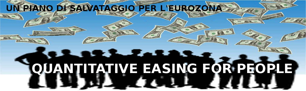 QUANTITATIVE EASING FOR PEOPLE