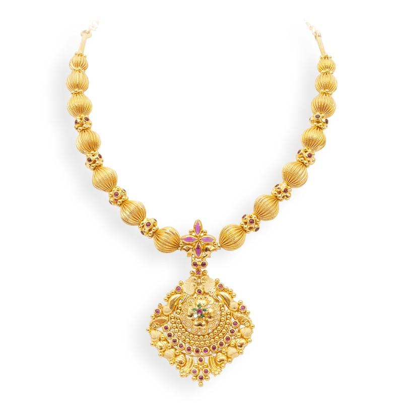 Fashion jewels designs: Beautiful-Design-of-Tanishq-Gold-Jewelry ...