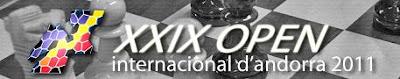 XXIX Open internacional de ajedrez de Andorra