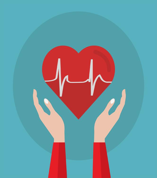 Aumento de la presión arterial alta del corazón