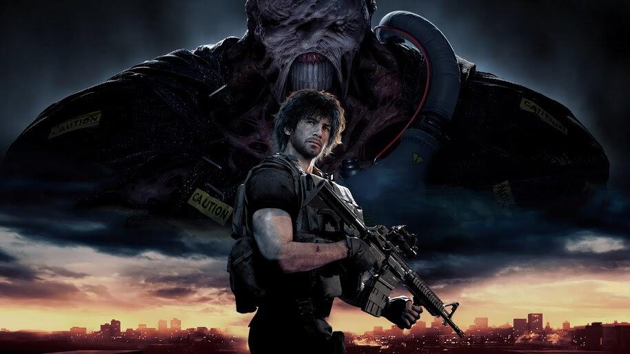 Resident Evil 3 Remake Carlos Nemesis 4k Wallpaper 7 596