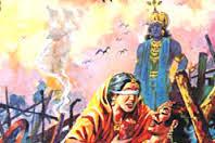 Penyebab Kematian Sri Krishna Dalam kisah Mahabharata