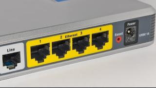 interfaccia web router