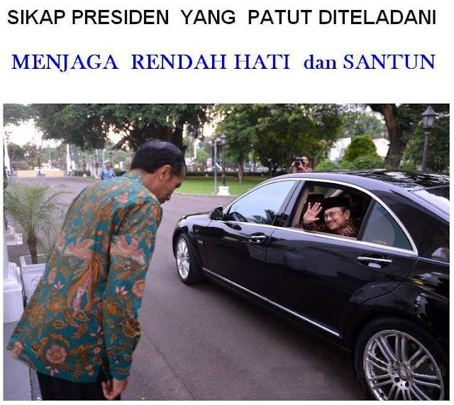 5 Sisi Positif yang Patut Dicontoh dari Jokowi