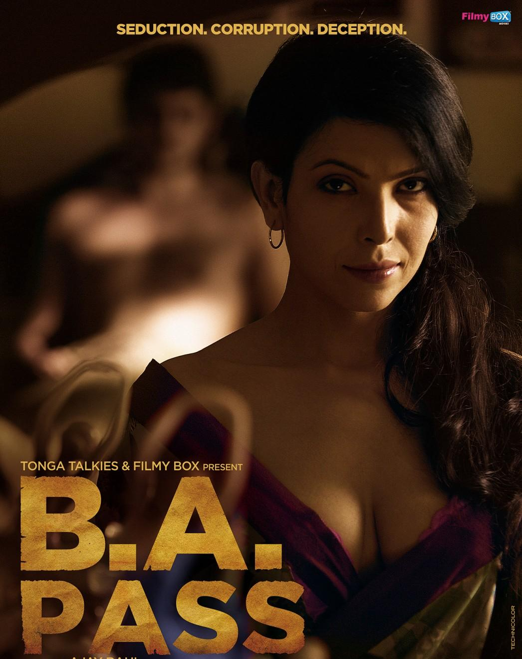 Poster Of Bollywood Movie BA Pass (2013) 300MB Compressed Small Size Pc Movie Free Download downloadhub.in