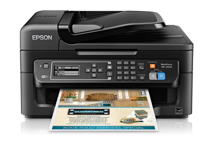 Epson Workforce Wf 2630 Descargar Driver Impresora