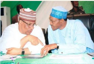 Gen. Ibrahim Babangida and President Muhammadu Buhari